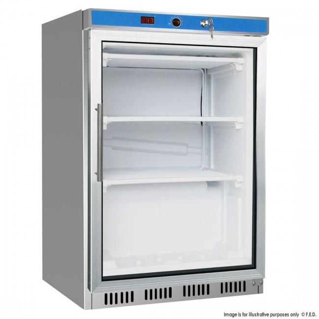 Hf200g S S Display Freezer With Glass Door B Amp B Fridge
