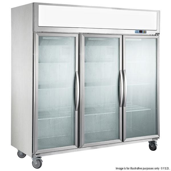 Sufg1500 Three Door Upright Display Freezer B Amp B Fridge