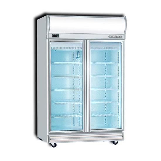 Berjaya 2d dc 2 door display chiller b b fridge for 1 door display chiller