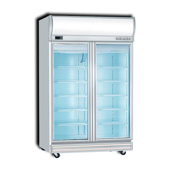 Berjaya 2d Df 2 Door Display Freezer B Amp B Fridge